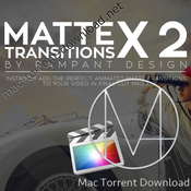 Rampant design tools matte transitions x v2 icon