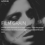 Lutify me film grain luts icon