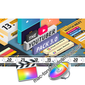 The youtuber pack 3 0 final cut pro x icon