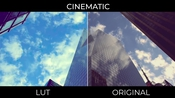 Cinematic luts for adobe premiere pro icon