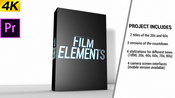 Movie element pack for adobe premiere pro icon