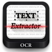 Text extractor extract text from pdf image with ocr icon