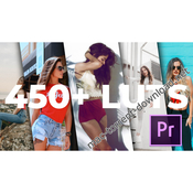 450 luts for adobe premiere pro icon