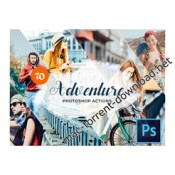 70 adventure photoshop actions icon