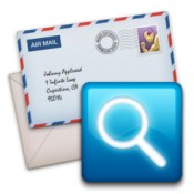 Infoclick search tool for mail icon