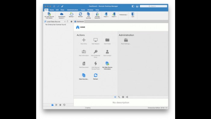 Remote Desktop Manager Enterprise 2019170 Screenshot 01 xnj6bn