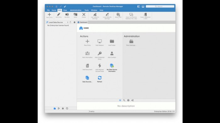 Remote Desktop Manager Enterprise 2019170 Screenshot 03 ikzeg1n