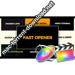 Clean Fast Opener FCPX icon
