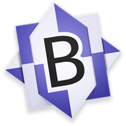 Bbedit powerful text and html editor icon