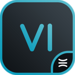 Liquivid video improve easy to use video and photo correction app icon