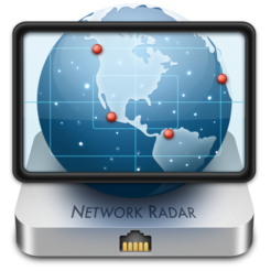 Network radar manage and configure network devices app icon