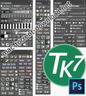 Tkactions v7 panels for adobe photoshop icon