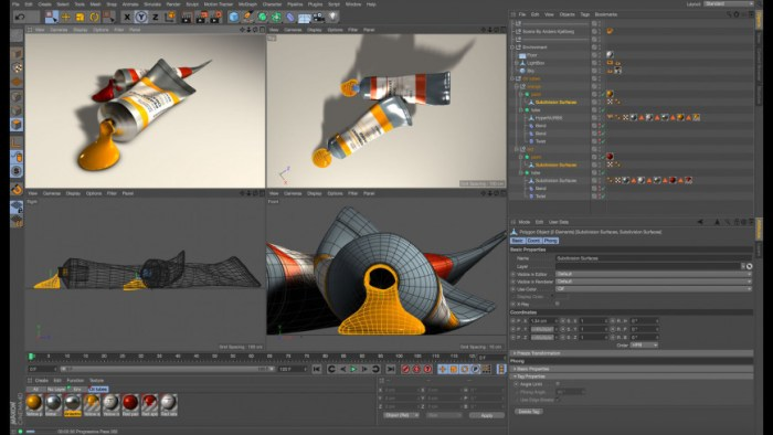 Maxon CINEMA 4D Studio R21026 Screenshot 01 9nlsbvn