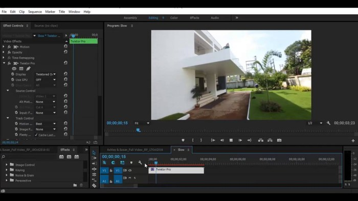 Twixtor Pro v720 for Adobe After Effects and Premiere Pro Screenshot 01 l9payxy
