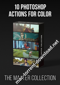 PRO EDU Master Collection 10 Photoshop Actions for Color icon