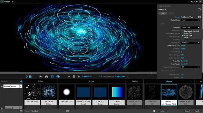 Red Giant Trapcode Particular 412 for Adobe After Effects Screenshot 02 134ng3n
