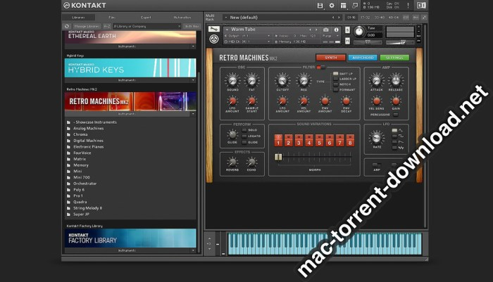 Native Instruments Kontakt 620 Screenshot 04 pygm8n