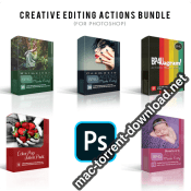 CREATIVE EDITING ACTIONS BUNDLE icon