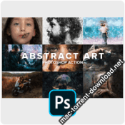 Abstract Art Photoshop Action 4403730 icon
