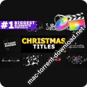 Christmas Titles And Transitions FCPX 25296025 icon