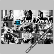 Black Beauty Photoshop Actions ACR LUTs icon