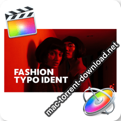 Fashion Ident Typo Opener For Final Cut Apple Motion 23795945 icon