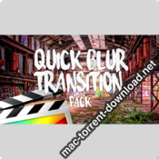 Ryan Nangle Quick Blur Transitions for Fcpx icon