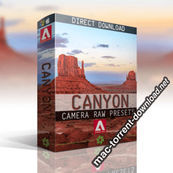LandscaPhoto CANYON CAMERA RAW COLLECTION