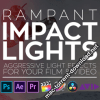 Rampant Design Tools Impact Lights for Final Cut Pro X, Premiere, After Effects etc