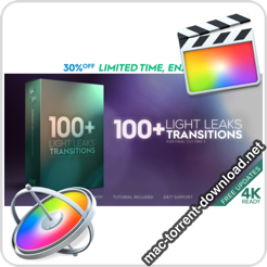 FCPX Light Leaks Transitions 23726269 icon