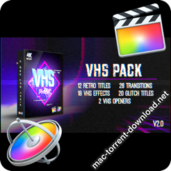 VHS Pack FCPX 22944448 icon