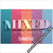 3D Text Effects Bundle V3 icon