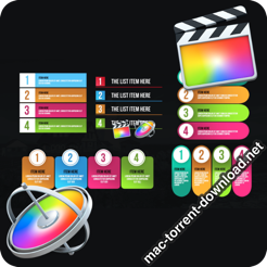 Infographic Modern Lists Final Cut Pro 26467765 icon