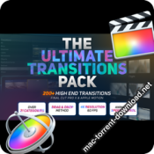 The Ultimate Transitions Pack FCPX Motion 26158295 icon