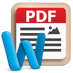 Tipard PDF to Word Converter for Mac icon