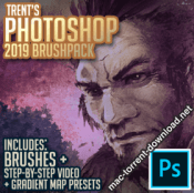 Trent Photoshop Brushpack 2019 icon