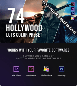 Hollywood LUT Color Grading Pack 26441281 icon
