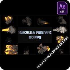 Smoke And Fire VFX Elements After Effects 26295425 icon