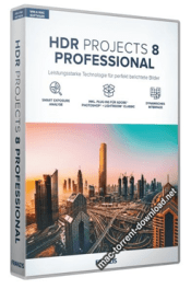 Franzis HDR projects 8 professional box icon