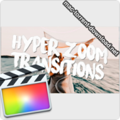 Hyper Zoom Transitions for Final Cut Pro icon