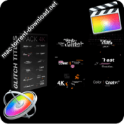 Glitch Titles Pack 4K 30854308 icon