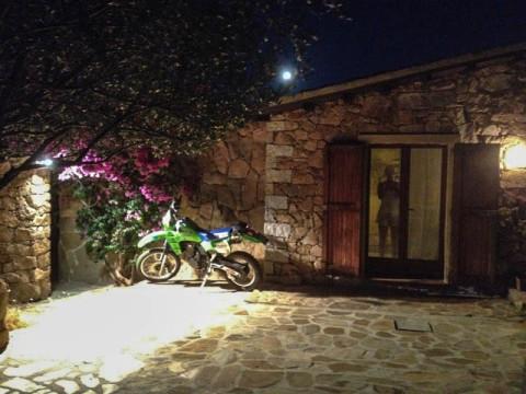 KLR600 auf Sardinien
