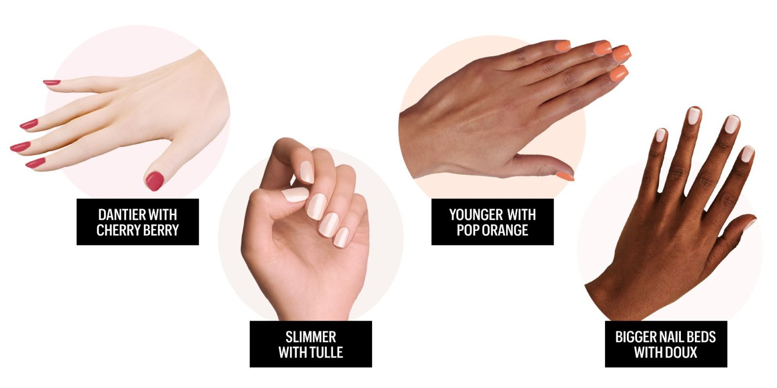 Best Nail Colors For Your Skin Tone Most Flattering Nail