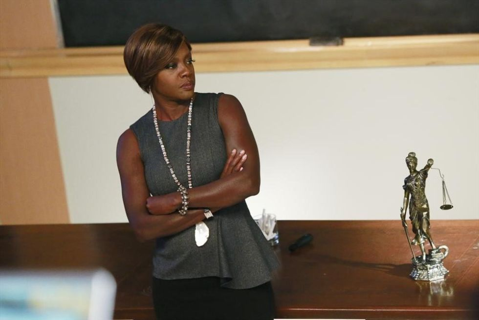 As the law students who earn a coveted spot on Annalise Keating's staff can attest, the real takeaway is how to please a hard-ass manager. Keating doesn't laugh at jokes and never joins her crew for happy hour. Try charming her and risk spending the night writing briefs. The colleagues she does confide in most are those who, quite simply, keep their heads down and do the work (superbly). Anything more than that isn't in your job description—or hers.