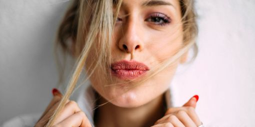 Tinted lip gloss can be easy beauty hacks to get ready in the morning!