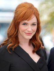 medium length red hairstyles