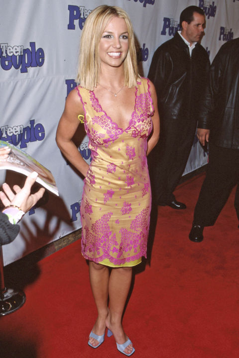 The early 2000s is arguably the most distressing time in fashion to look back on. Britney Spears' square-toed slides are the least offensive thing about this decade.