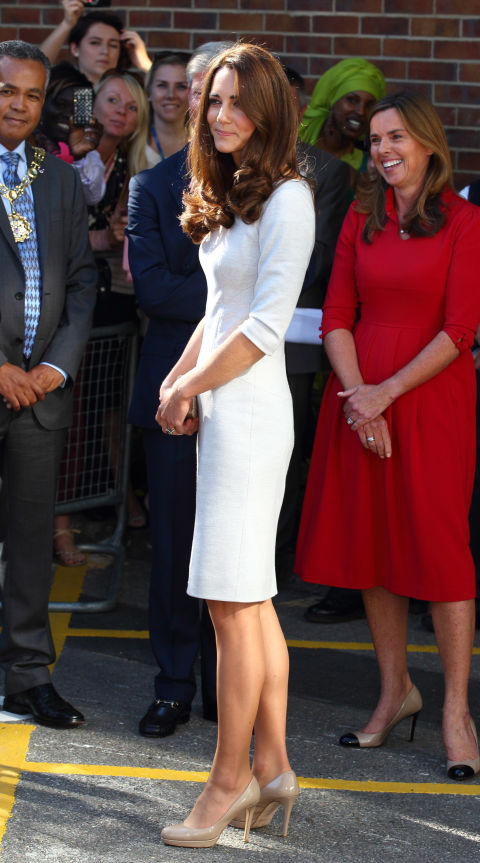Is Kate Middleton ever not wearing her L.K. Bennett nude pumps?