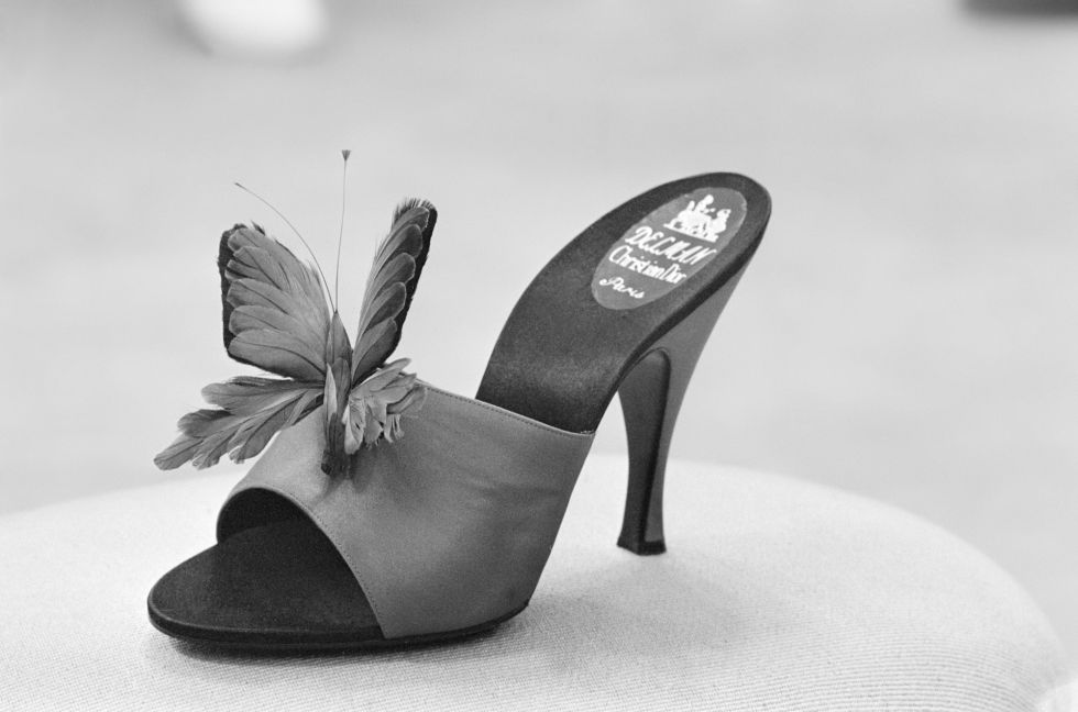 It doesn't get more magical than these butterfly slides by Roger Vivier for Christian Dior.