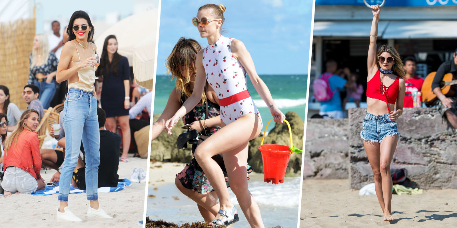 28 Celebrity Beach Outfit Ideas for Summer 2017  What to